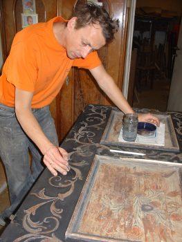 Restaurierung Bauernmalerei