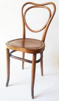 Kohn Spieltischsessel aus Bugholz