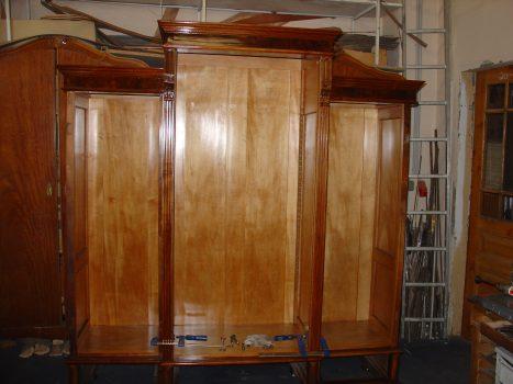 Innenleben Altdeutscher Kasten - Restaurierung alter Möbel
