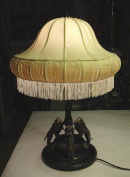 Antike Tischleuchte - Lampenmacherin Brigitta Kellner